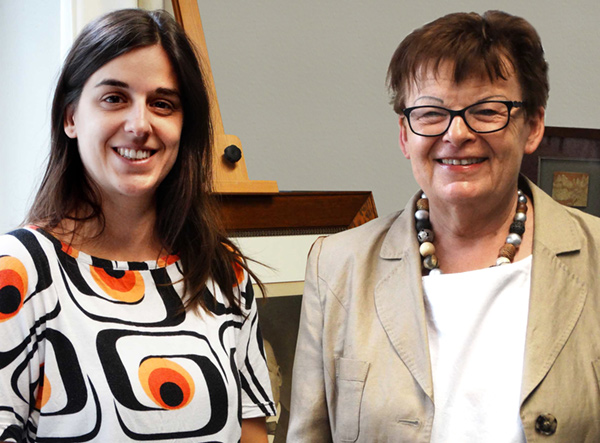 Von links: Dr. Juliane O'Hagan und Prof. Dr. Brigitte Petersen
