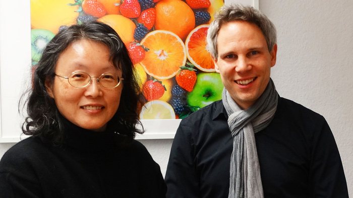 Mrs. Shu-Fen Tseng, the Agriculture and Food Agency, Council of Agriculture of Taiwan and Mr. Christian Kenntner, EQAsce